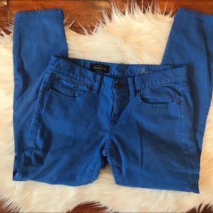 """J. Crew """"Toothpick"""" Ankle Jeans"""